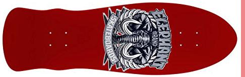 Elephant Brand Red Deck 80s skateboards