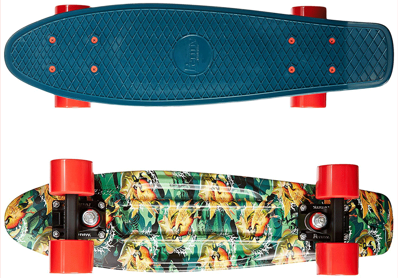 penny board review nickel skateboards too 80s skateboards