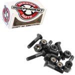 Black bolts for skateboards