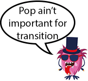 monster saying pop ain't important for transition 80s skateboards