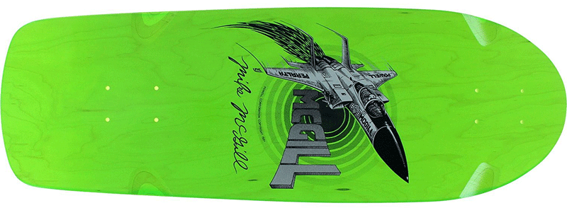 Powell Peralta 80s Skatebaords in green