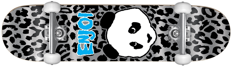a skateboard for best skateboard for 5 year old featuring panda in siler