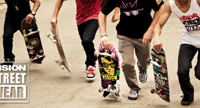 Vision Skateboards – Old school decks & classic street wear