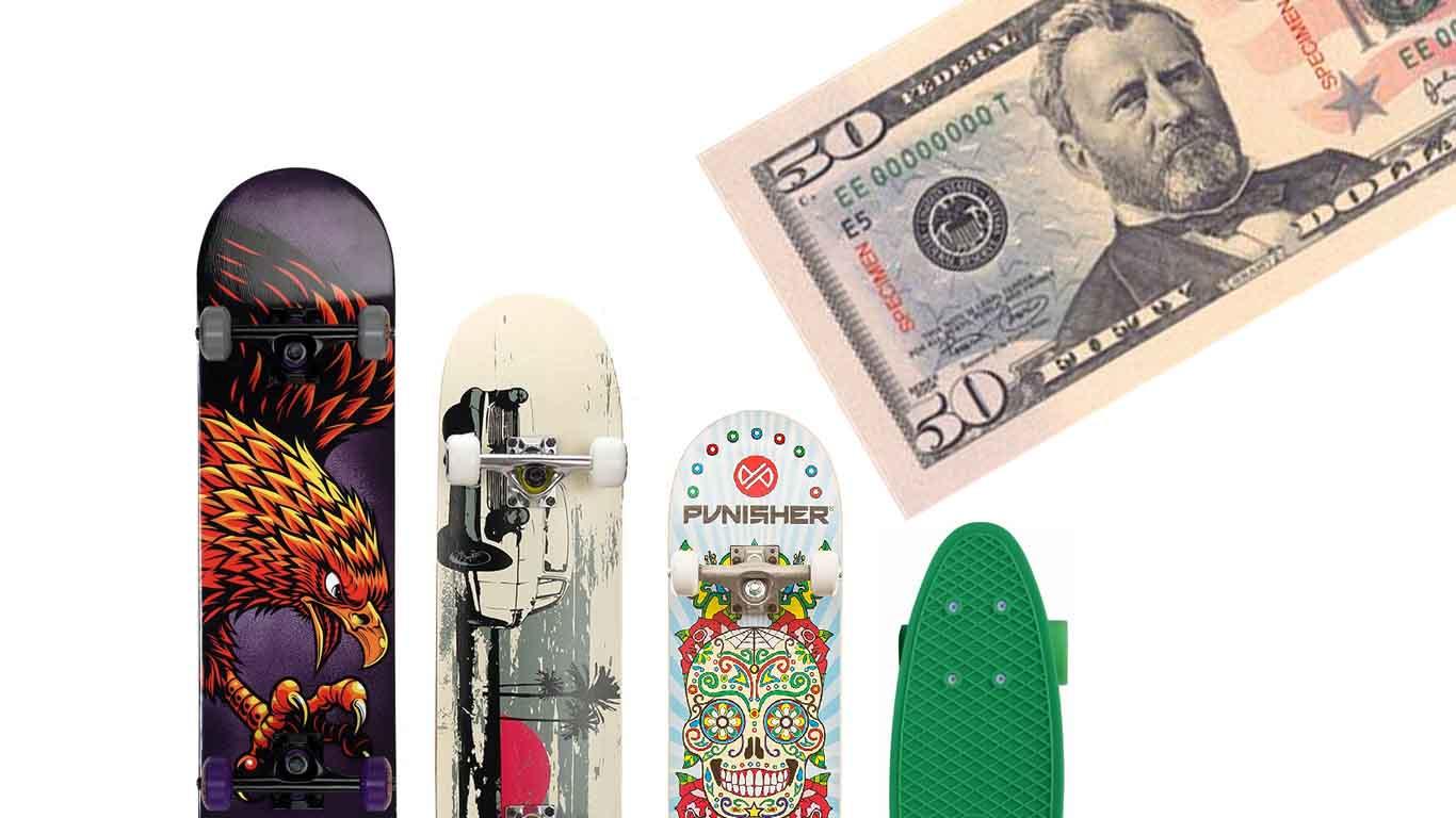 Skateboard under $50