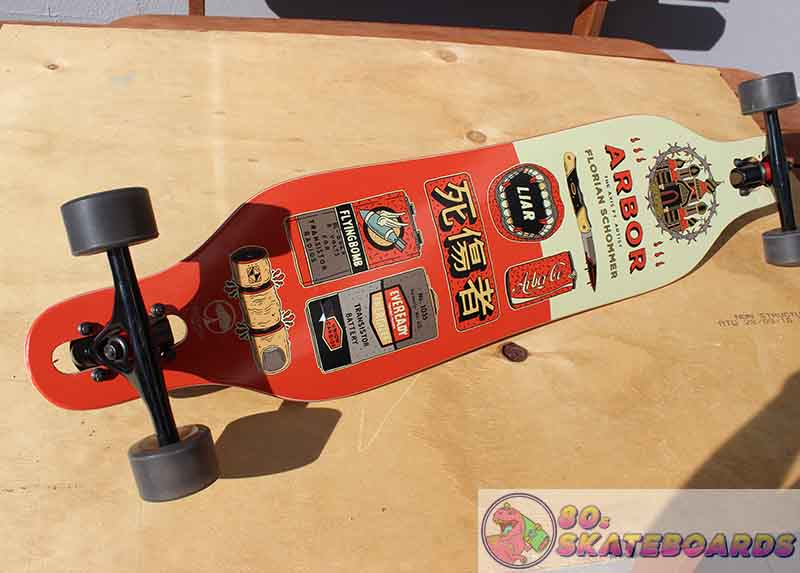 Arbor Longboard Review 80s skateboards review