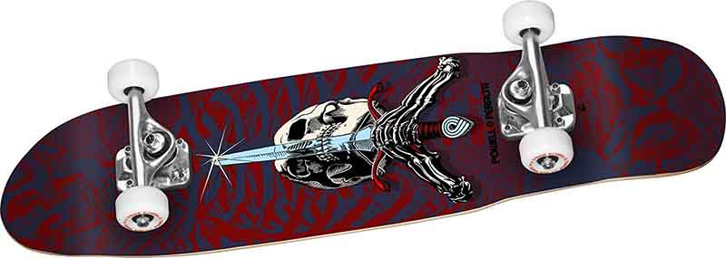 Powell Peralta Complete Skull and Sword