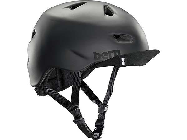 Black Helmet by Bern Brentwood