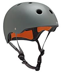 Best Skateboard Helmet featuring the protech classic in grey